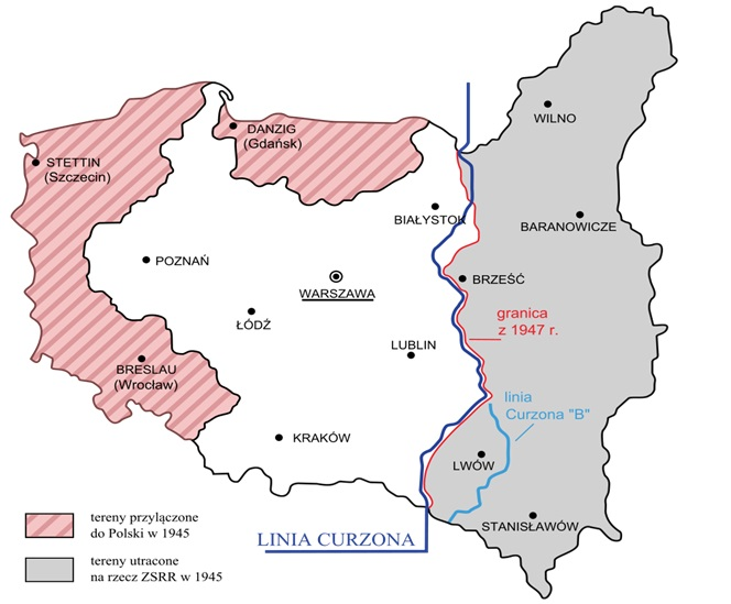 Polsko po 1945